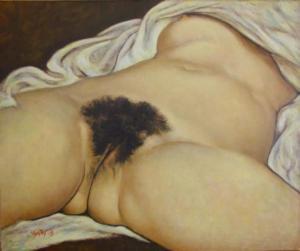 Gustave Courbet, L'origine del mondo, 1866