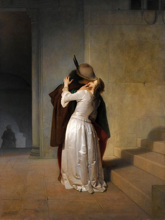 Francesco Hayez - Il Bacio (1859)