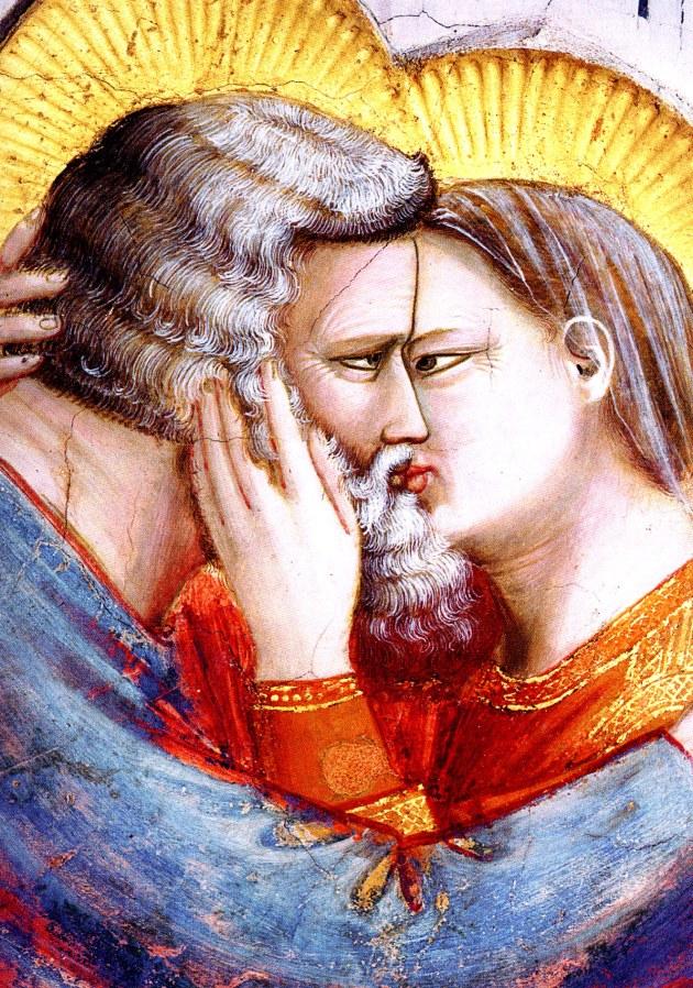 Giotto, Il Bacio di Anna e Gioacchino (Cappella Scrovegni)