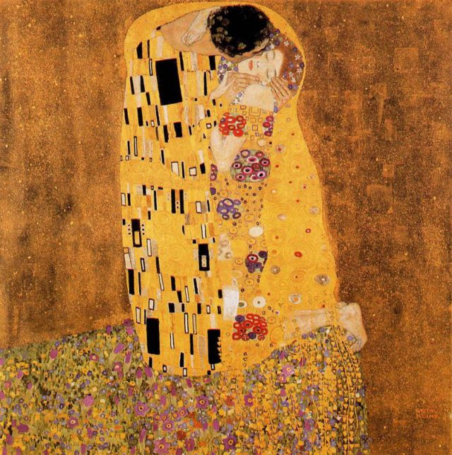 Gustav Klimt, Il bacio (1907- 08)
