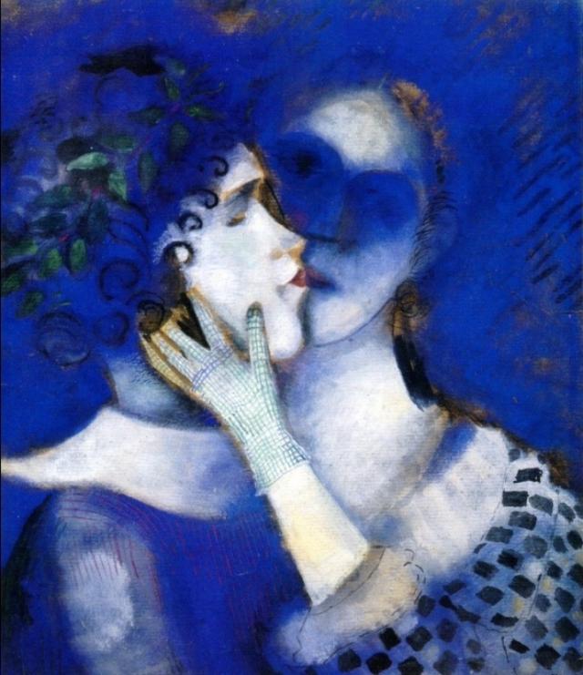 Mark Chagall, Blue lovers