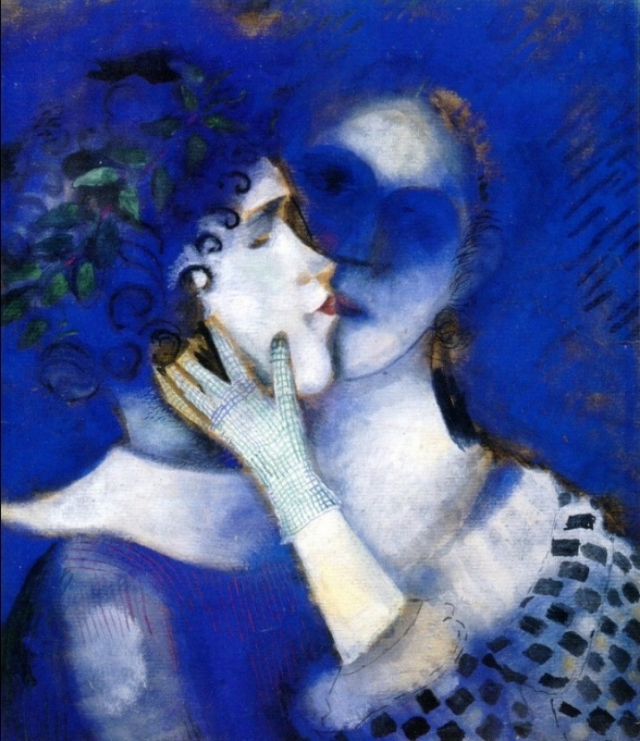 Mark Chagall, Blue lovers