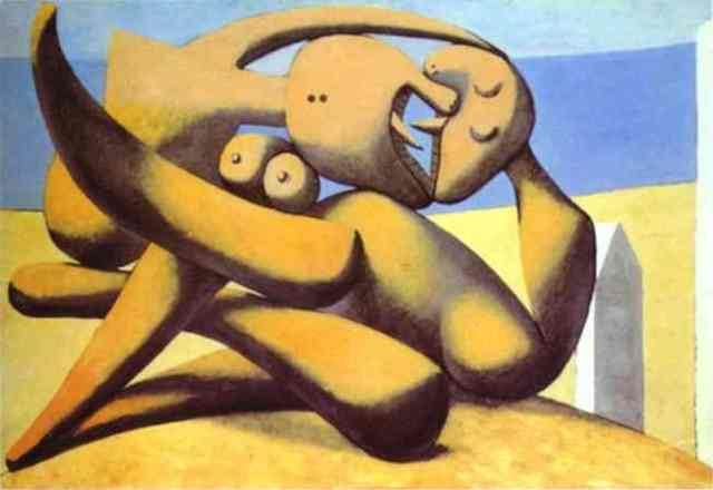 Pablo Picasso, Figures on a Beach