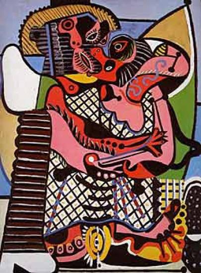 Pablo Picasso, Il bacio (1928)