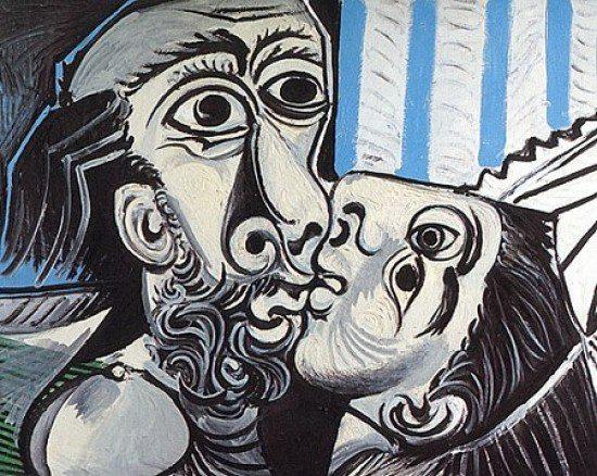 Pablo Picasso, Il bacio (1969)