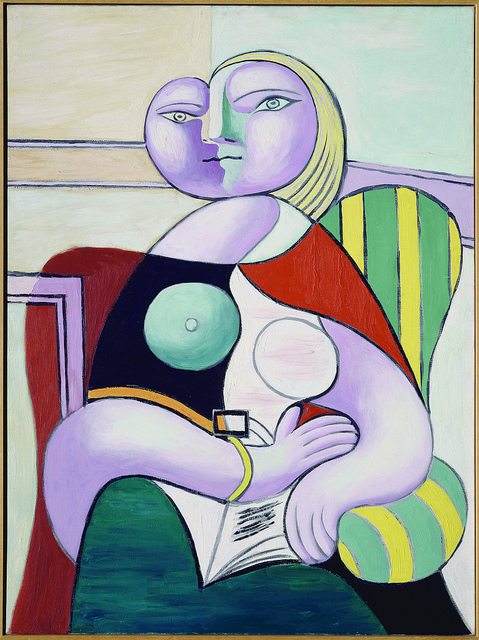 Pablo Picasso, La lecture (1932)