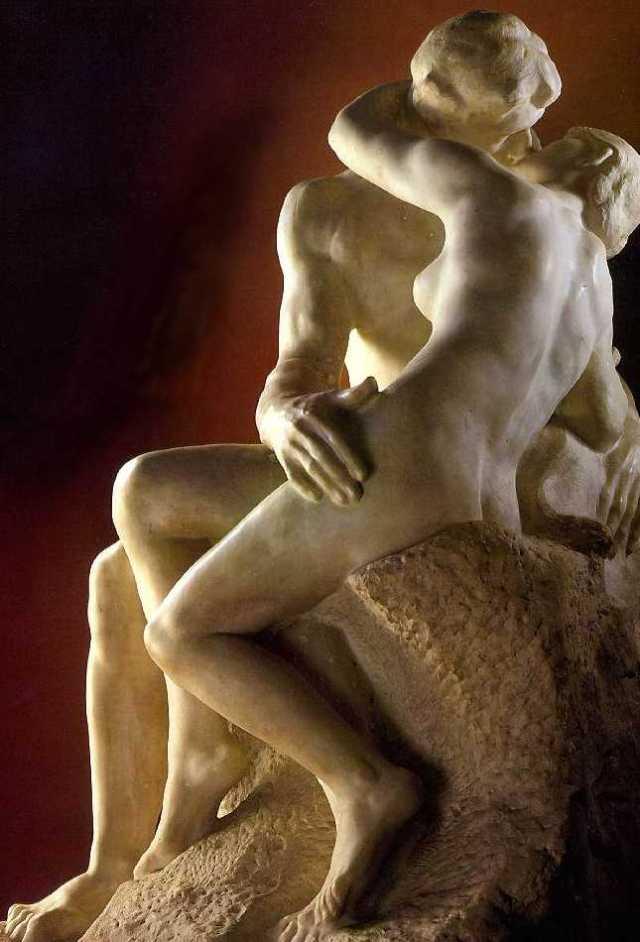 Rodin, Il bacio (1887)
