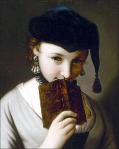 Antonio Rotari (1707-1762) - Ragazza con un libro