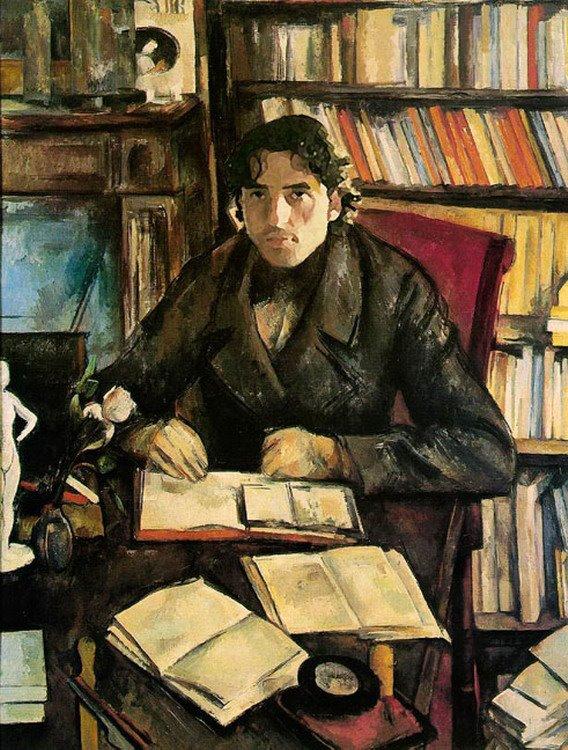 Cezanne, Portrait de Gustave Geffroy, 1895