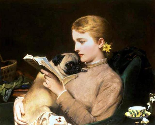 Charles Burton Barber, Blond and Brunette, 1879