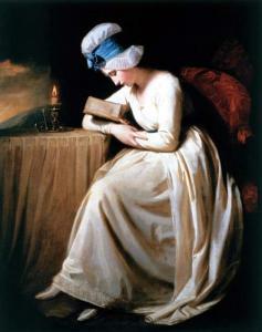 George Rommey, Serena reading, 1780-85