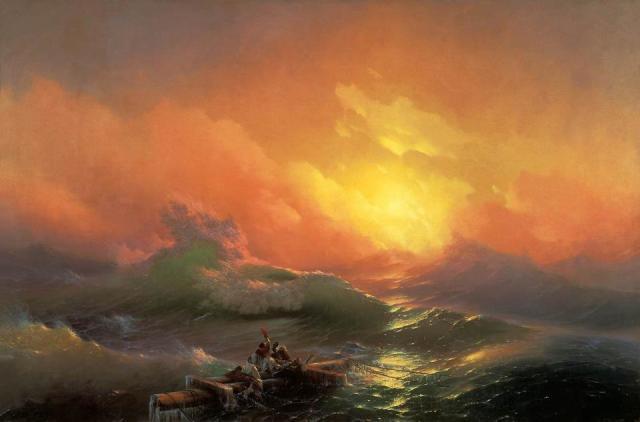 Ivan Konstantinovic Ajvazovskji, The Ninth Wave