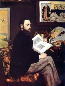 Manet, Emile Zola, 1868