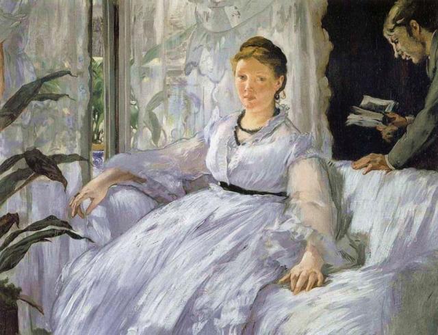 Manet, Reading, 1865-73