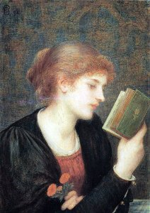 Marie Spartali Stillman, Love sonnets, 1894