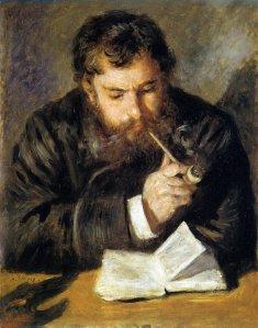 Renoir, Claude Monet (the Reader), 1872