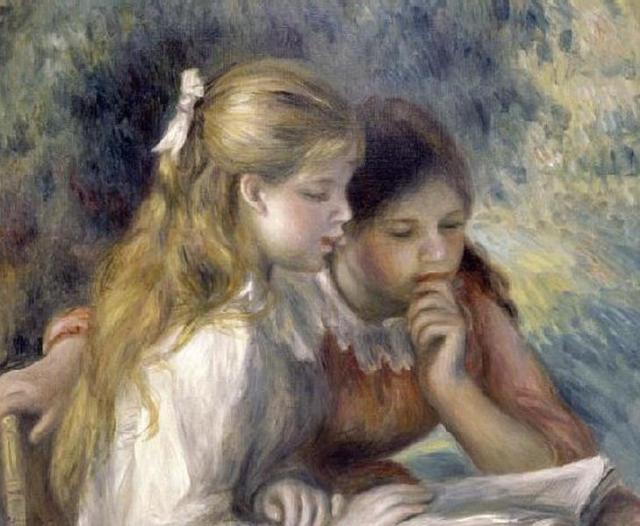 Renoir, La Lecture, 1919