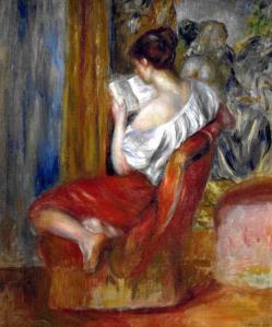 Renoir, La Liseuse, 1900 ca.