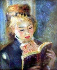 Renoir, Ragazza che legge, 1874-76