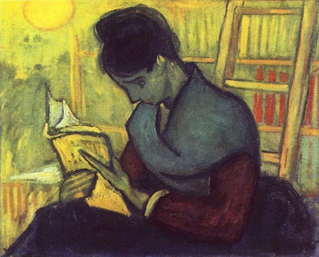 Van Gogh, A Novel reader, 1888