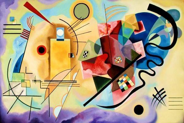 Vasilij Kandinskij, Giallo rosso blu (1925)