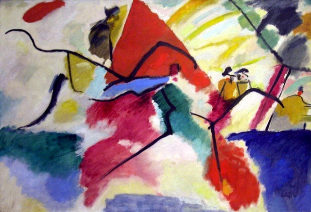 Vassilij Kandinskij, Impression V, Park, 1911
