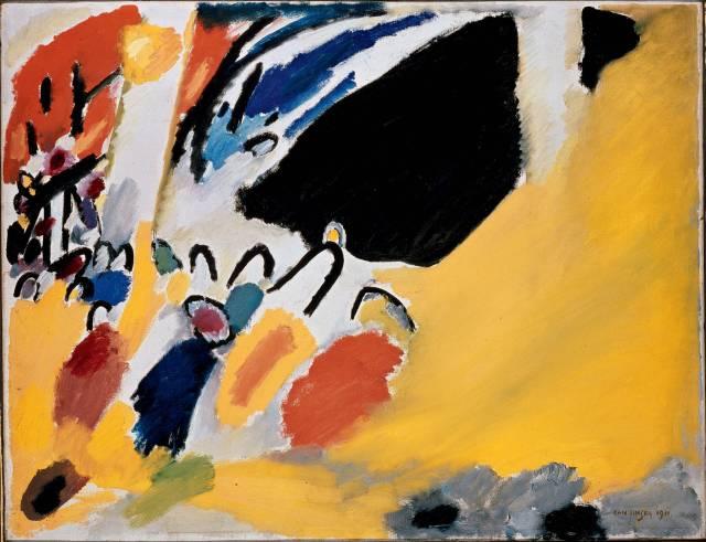 Vassilij Kandinskij, Impressione III (Concerto), 1911