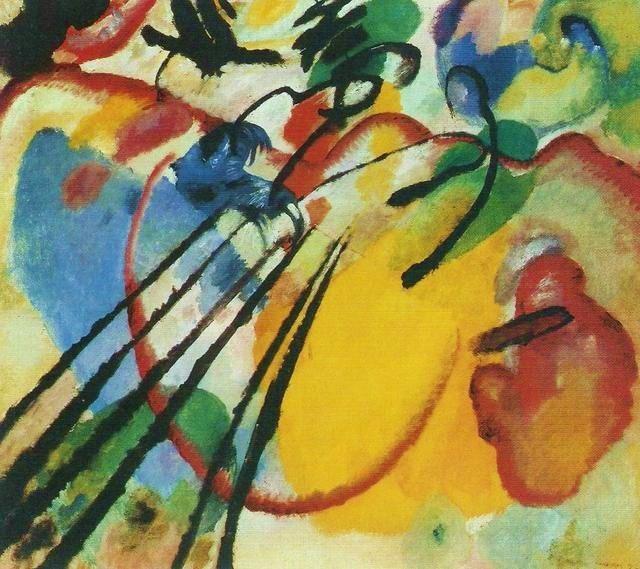 Vassilij Kandinskij, Improvvisazione 26 (Remi), 1912