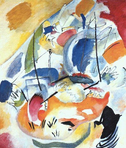 Vassilij Kandinskij, Improvvisazione 31 (Sea Battle), 1913
