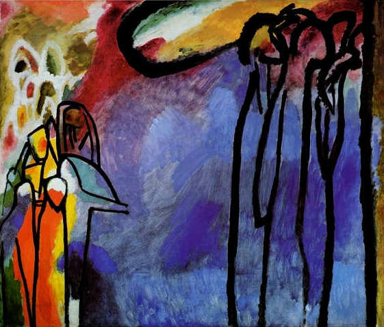 Vassilij Kandinskij, Improvvisazione IXX, 1911