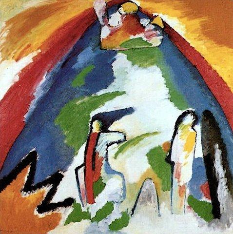 Vassilij Kandinskij, Montagna, 1909