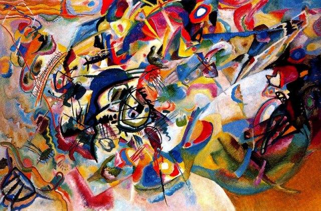 Vassilij Kkandinskij, Composizione VII, 1913