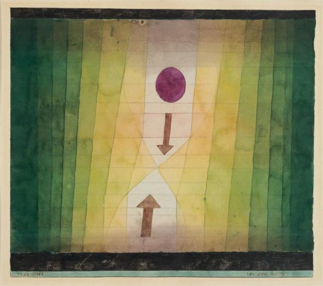 Paul Klee, Before the blitz, 1923