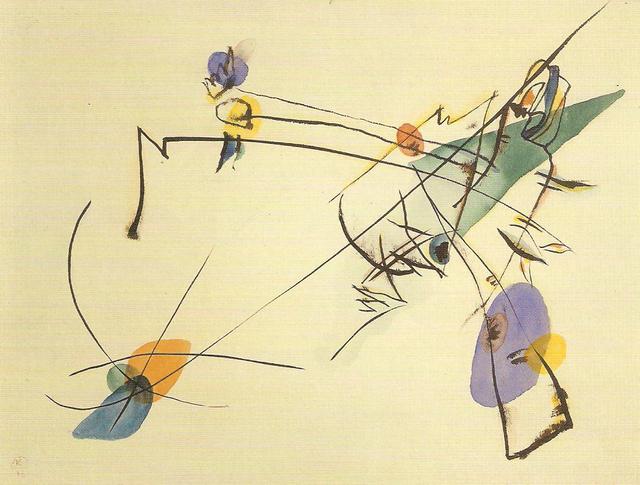 Vassilij Kandinskij, Semplice, 1916