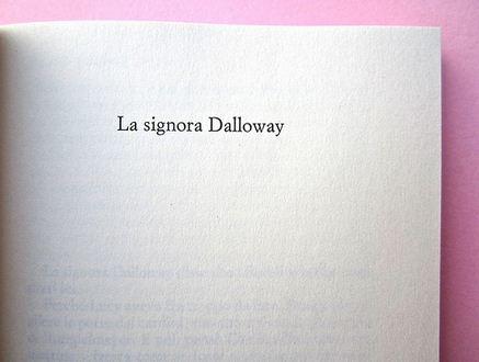 La signora Dalloway - 1925