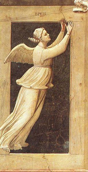 Giotto, Cappella Scrovegni, Speranza