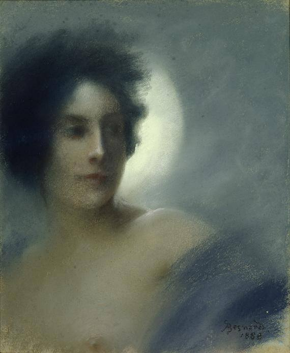 Paul Albert Besnard (1849-1934) ~ The Eclipse, 1888
