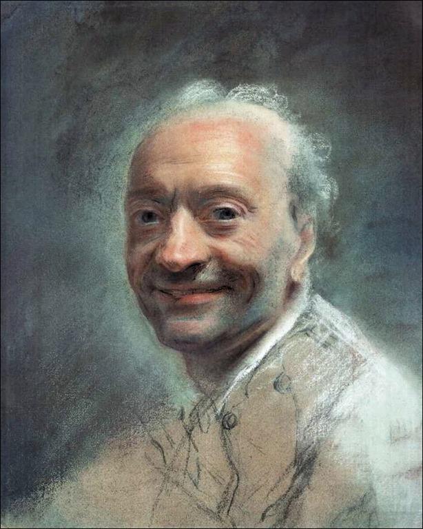Maurice Quentin de La Tour, ultimo autoritratto, 1780 ca.