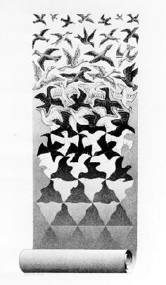 Escher, Liberation (1956)