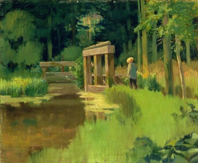 Édouard Manet, 'Nel Parco'