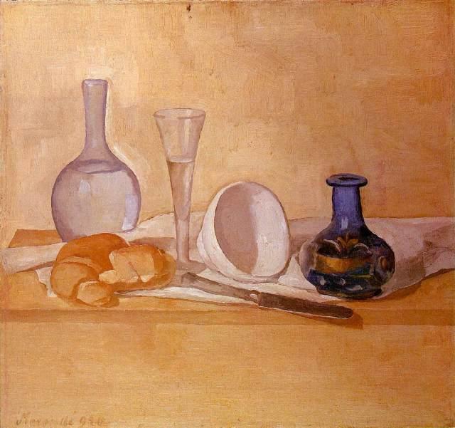 Giorgio Morandi, natura morta (vaso blu)