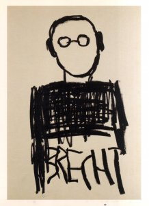 Mimmo Paladino, 'Brecht', 2005, collezione dell'autore