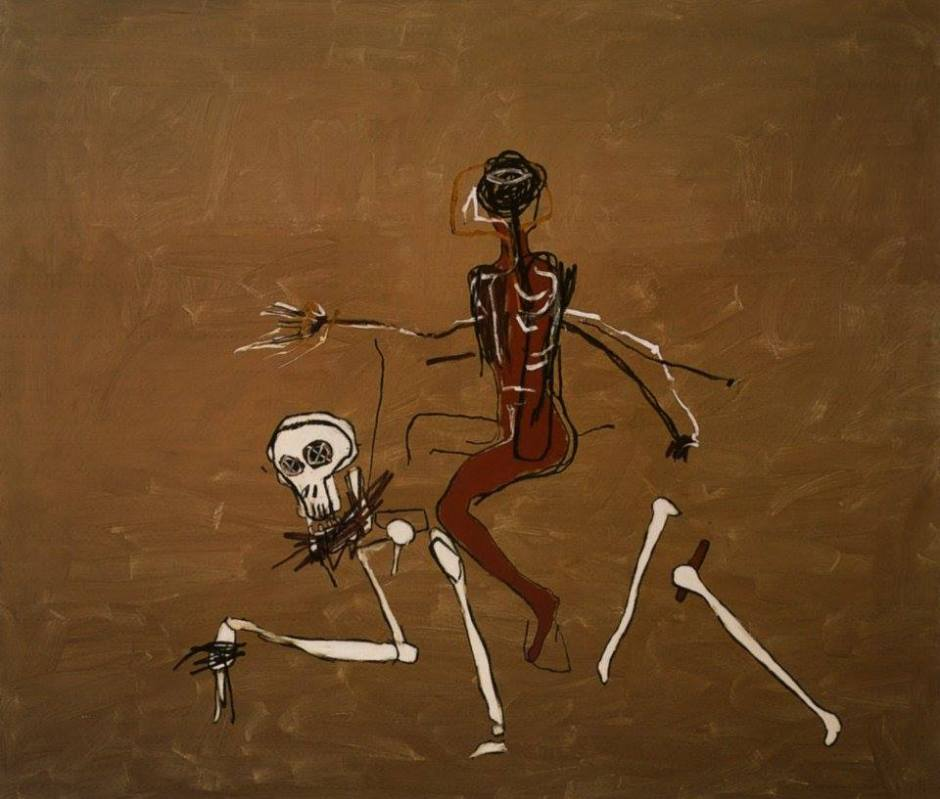 Jean-Michel Basquiat, Riding with Death by Jean-Michel Basquiat