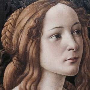 Botticelli, Venere e Marte, Detail, National Gallery