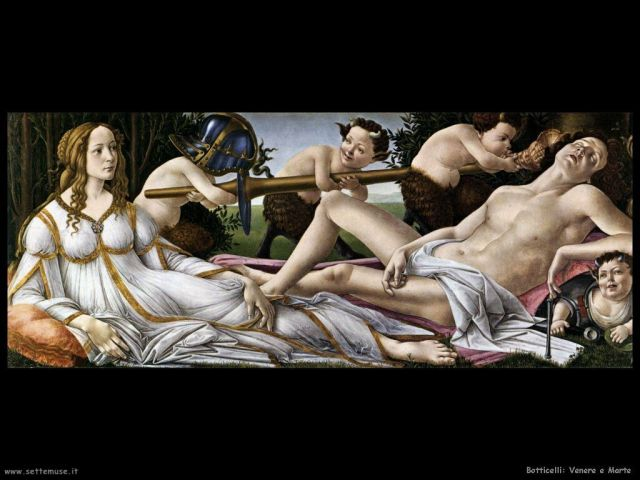 Botticelli, Venere e Marte, National Gallery