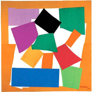 Matisse, The snail, 1953