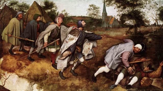 Pieter Bruegel the Elder, The Parable of the Blind Leading the Blind