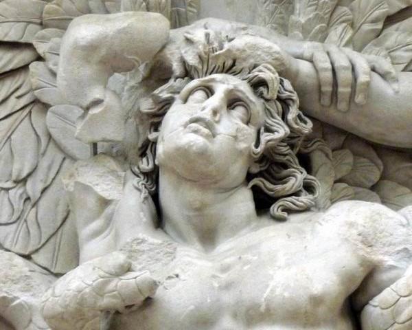 gigantomachia Pergamon, detail